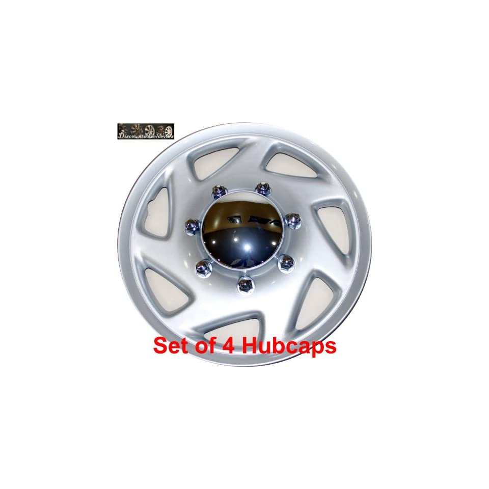 16 set of 4 Ford Truck Van Hub caps design are UNIVERSAL wheel covers fit most