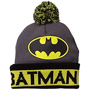 Batman Grey Cuffed Beanie Hat at Gotham City Store