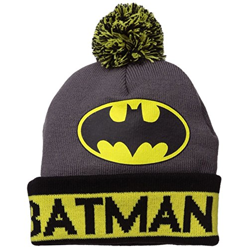 Batman Grey Cuffed Beanie Hat at Gotham City Store