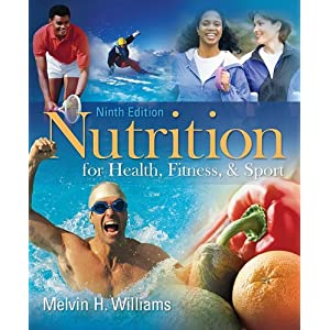 51uIfHJorUL. SL500 AA300  Nutrition for Health, Fitness & Sport [Paperback]