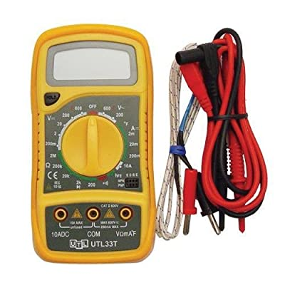 Multi-Tester AC/DC OHMS Millivolts temperature NEW 36514