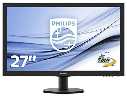 "Philips 273V5LHSB V-Line Monitor 27"", Nero"