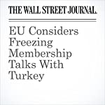 EU Considers Freezing Membership Talks With Turkey | Valentina Pop