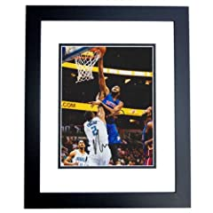 Andre Drummond Autographed  Hand Signed Detroit Pistons 8x10 Photo - BLACK CUSTOM... by Real Deal Memorabilia