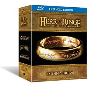 51uIo2jkwCL. SL500 AA300  [Amazon   Blu ray Boxen] Der Herr der Ringe   Die Spielfilm Trilogie für 59,99€