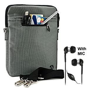 Bag Case with accessories compartment for Pandigital SuperNova - 8
