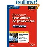 Concours Sous-officier de gendarmerie - Tout-en-un - Concours 2014