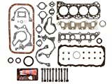 Evergreen FSHB8000 89-95 Suzuki Sidekick Samurai Swift 1.3L Full Gasket Set Head Bolts G13A G13BA