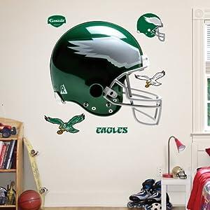 NFL Philadelphia Eagles Throwback Helmet Wall Graphics by Fathead