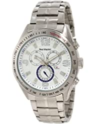 Viceroy Men's 432837-05 White Chronograph Date Stainless Steel Watch