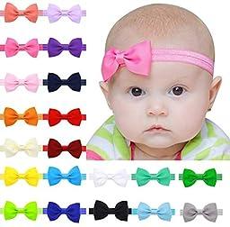 Toptim Baby Girl\'s Elastic Headbands for Photographic Accessories (L-2.6\