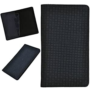 DCR Pu Leather case cover for Huawei Ascend Y220 (black)