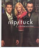 Julian McMahon Dylan Walsh Signed Autographed 8 x 10 Nip / Tuck Cast Photo CLOSEOUT