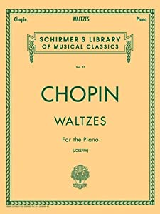 Waltzes For The Piano by G. Schirmer