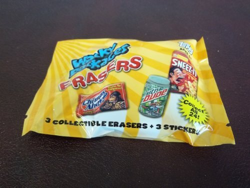 Wacky Packages Erasers