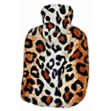 Warm Tradition Leopard Print Hot Water Bottle Cover - COVER ONLY- Made in USA