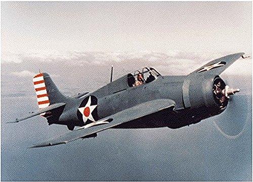 Trumpeter 1/350 F2A Aircraft Set for USS Saratoga (6-Box) - 1