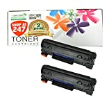 Shop At 247 ® Compatible Toner Cartridge Replacement for HP CE285A (2-Pack)