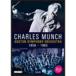 Charles Munch & The Boston Symphony Orchestra 5 DVD Box Set