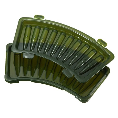 AK-47 New 3D Bullet Shaped Plastic Ice Cube Tray Mould (Ak 47 Bottle Opener compare prices)
