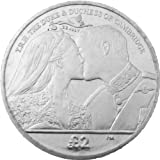 The 2013 Royal Baby The Kiss Coin with Privy Mark