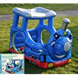 Inflatable Express Train Wading Pool And Ball Pit/ Newby LIME SHOP