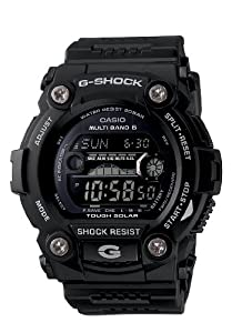 Casio Men's GW7900B-1 G-Shock Solar Atomic Black Digital Sport Watch