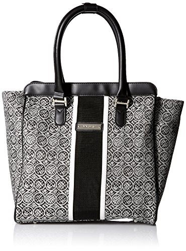 ninewest-naia-14-inch-tote-black-white-one-size