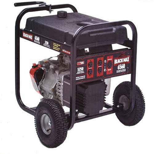 Black Max 5,250 /6,560 - Watt Portable Generator