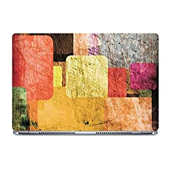 Posterboy The Patches Laptop Skin (Multicolor)