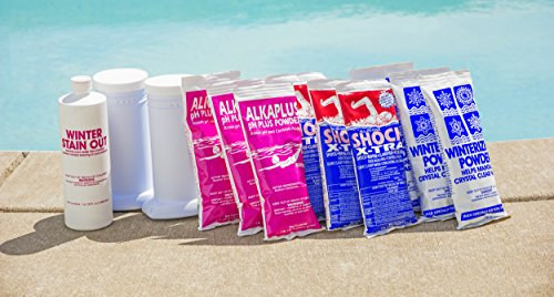 Premium Winter Closing Kit -For Swimming Pools up to 45K Gallons