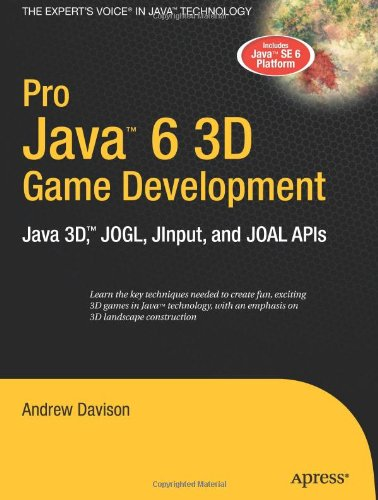 Pro Java 6 3D Game Development