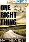One Right Thing (Marty Singer Mystery)