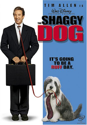 Cover art for  The Shaggy Dog