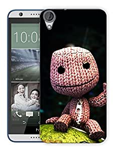 """Humor Gang Soft Toy Printed Designer Mobile Back Cover For """"HTC DESIRE 820"""" (3D, Matte, Premium Quality Snap On Case)"""