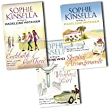 Madeleine Wickham Sophie Kinsella 3 Books Collection Pack Set RRP: £20.97 (The Wedding Girl, Cocktails For Three, Sleeping Arrangements) [Paperback] Madeleine Wickham