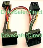 INKA-902820-83-3B ISO SOT Mute Lead for Parrot CK3100, CK3200, MKi9100, MKi9200 and other ISO handsfree kits for vehicles: Ford Galaxy, Ford Granada, Ford Kuga, Ford Mondeo, Ford S-MAX, Ford Transit