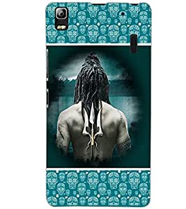 LENOVO A7000 LORD SHIVA Back Cover by PRINTSWAG
