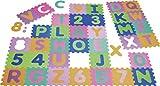 Playshoes 308738 EVA-Puzzlematten, Puzzleteppich, Bodenpuzzle 36-teilig, 3,25 m Gesamtflche, Dicke:1cm10