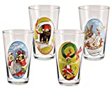 Dr. Seuss The Grinch Who Stole Christmas Glasses Set of 4