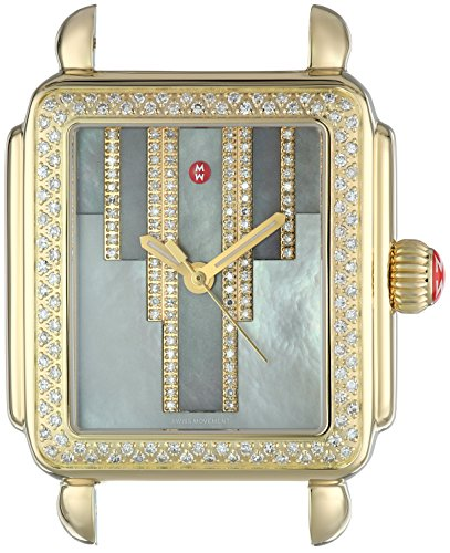 MICHELE-Womens-Deco-Swiss-Quartz-Stainless-Steel-Casual-Watch-ColorGold-Toned-Model-MW06T01B0096