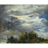 Study of Sky and Trees, by John Constable (Print On Demand)