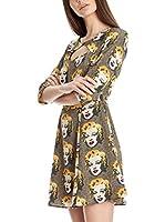 Pepe Jeans London Vestido Annie (Caqui)