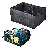 FakeFace Oxford Gewebe Kofferraumtasche Faltbar Kofferraum Organizer mit Klettbefestigung 52