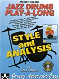 img - for Maiden Voyage Jazz Drums Play-A-Long: Styles & Analysis (CD & Book Set) book / textbook / text book