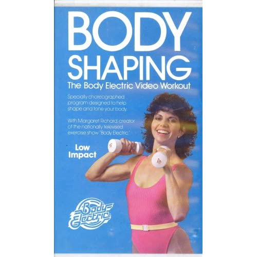 com: Body Shaping ~ The Body Electric Video Workout: Margaret Richard