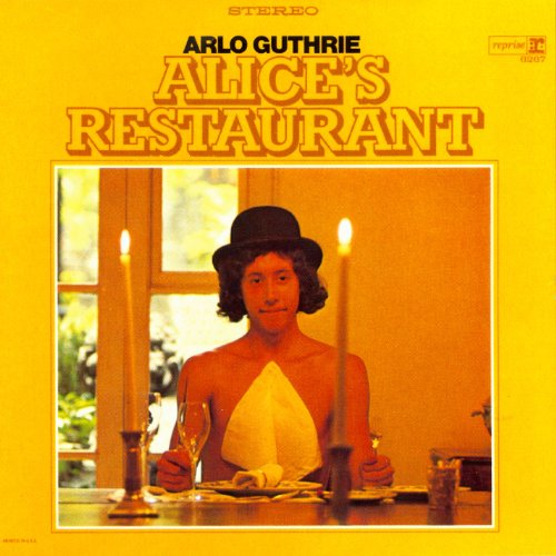 Original album cover of Alice's Restaurant by Arlo Guthrie