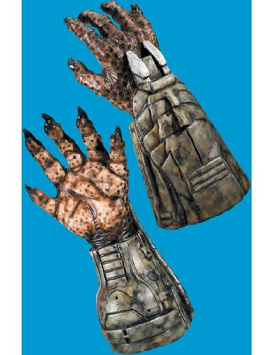 Rubies Costume Company Mens Predator Deluxe Latex Hands