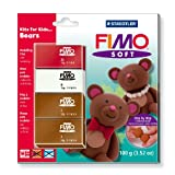 Staedtler Fimo Soft Set Kits For Kids Bears 8024 31 L2