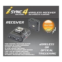 Interfit Strobies STR129 i sync 4 Receiver for STR130 (Black)